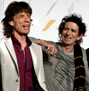 Mick and Keef
